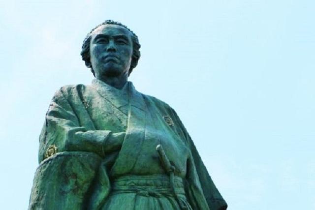 龍馬生誕の地|高知各所で見られる龍馬像