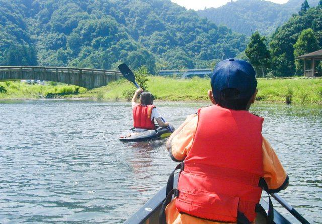 高知のアクティビティ体験|カヌー